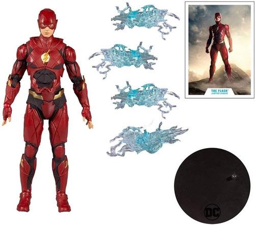 Imagen 1 de 2 de The Flash Justice League Dc Multiverse Mcfarlane