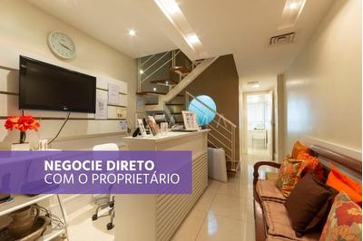 Excelente Sala Comercial Duplex Com 60m² Em Frente Shopping Leblon - Sa0086
