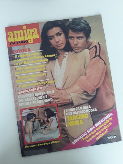 Revista Amiga 532 Betty Faria Reginaldo Faria Wando Tony Ram