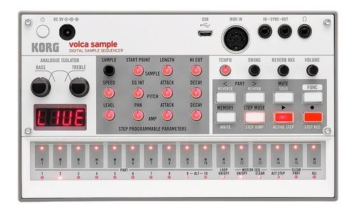 Korg Volca Sample Sampler Portatil Electribe Midi - Oddity