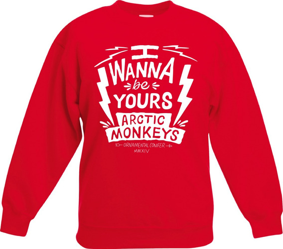 Sudadera Arctic Monkeys I Wanna Be Yours Envio Gratis