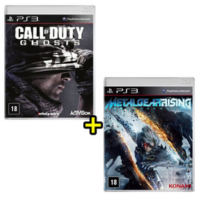 Call Of Duty Ghosts Ps3 + Metal Gear Rising Revengeance Ps3