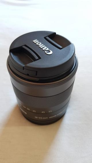 Lente Canon 18-55 3.5 / 5.6 Is Stm Para Mirrorless