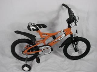 Bicicleta Musetta R16 Yguana Naranja