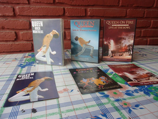 Super Coleccion Dvd Queen Originales Recitales Vivo/envios
