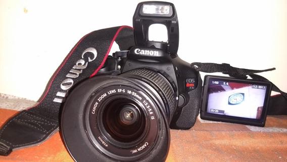 Canon T3i Perfeito Estado E Funcionamento 9k Lente Bolsa Mem