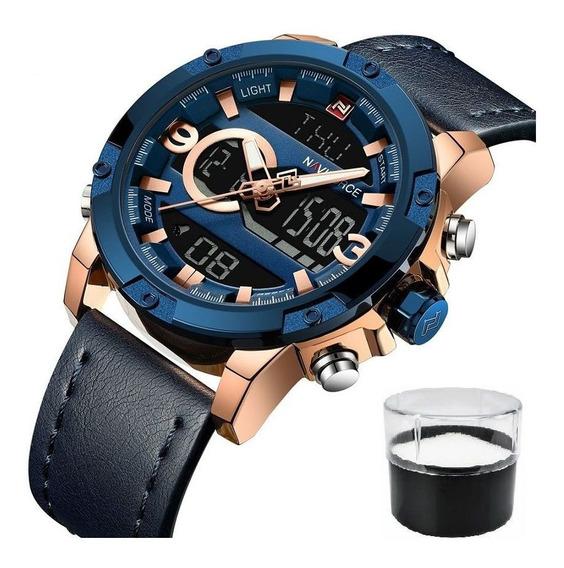 Relógio Original Masculino Promoção Serie Top Lançamento