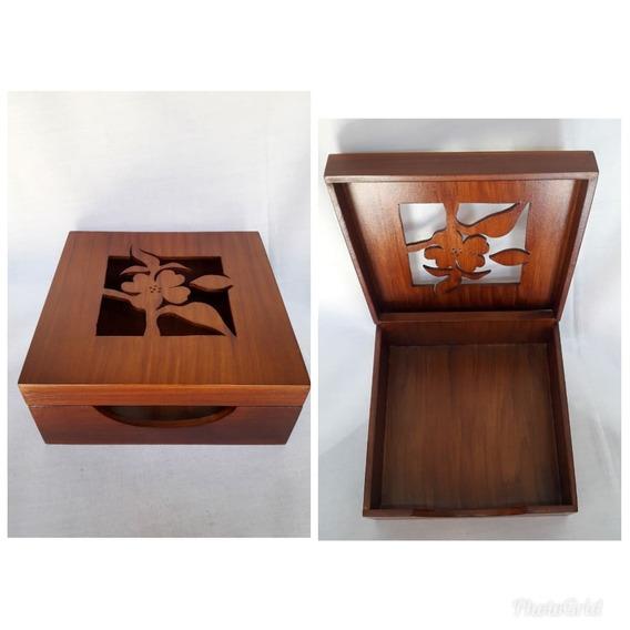 Caja Porta Servilletas Calada