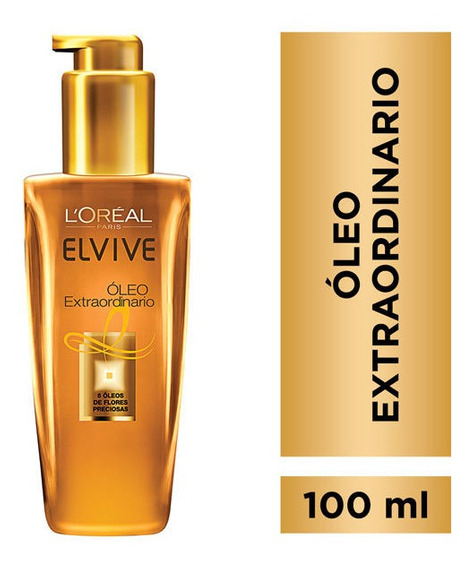 Aceite Capilar Elvive Óleo Extraordinario 100 Ml