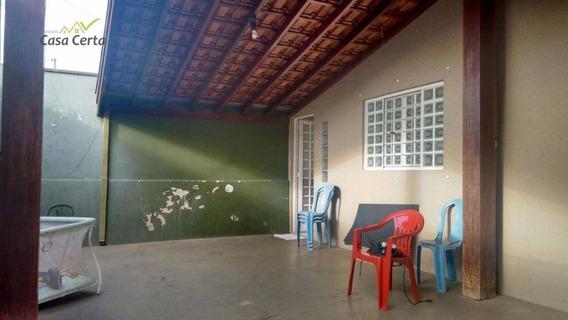 Casa Residencial À Venda, Jardim Alto Dos Ypês, Mogi Guaçu. - Ca0261