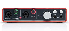 Interface De Áudio Focusrite - Scarlett 6i6 Usb