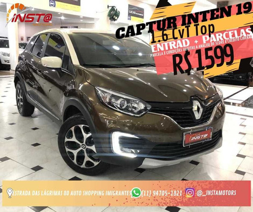 Renault Captur Intense 1.6 16v Sce Cvt (flex)