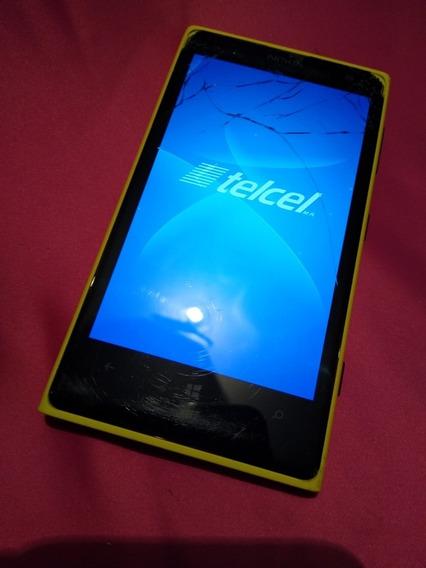 Nokia Lumia 909 Detalles En Pantalla Telcel 32gb