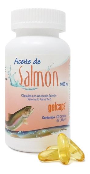 Suplemento Alimenticio Aceite De Salmón Gelcaps 100 Caps