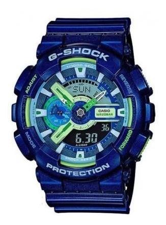 Relógio G Shock Ga-110mc 2adr Pulseira Resinada Original