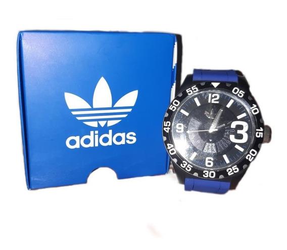 Reloj adidas Deportivo Para Caballero Azul Original Adh3112