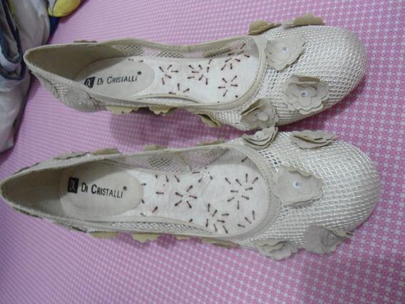 Sapato Feminino Di Cristalli ( Usado ) Tam. 38