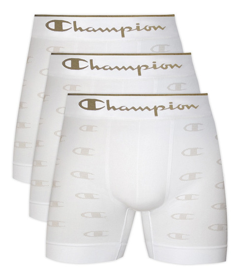 Kit C/ 3 Cueca Boxer Champion C Logo