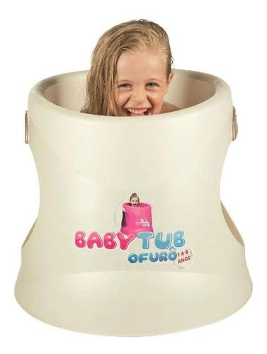 Banheira Ofurô Infantil Bebê 1 A 6 Anos Pérola - Babytub
