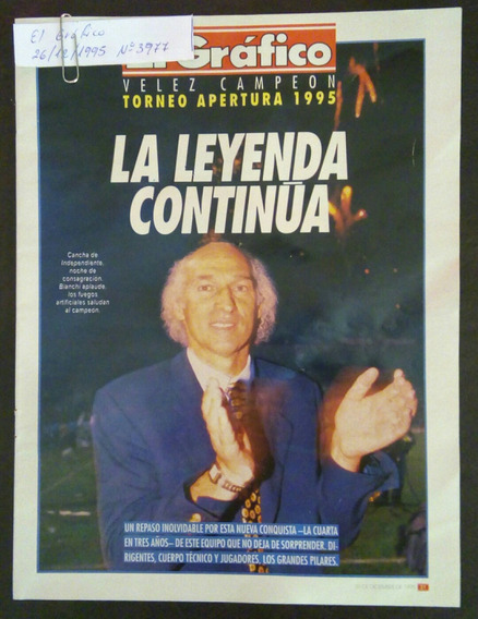 Vélez Campeón Apertura 95
