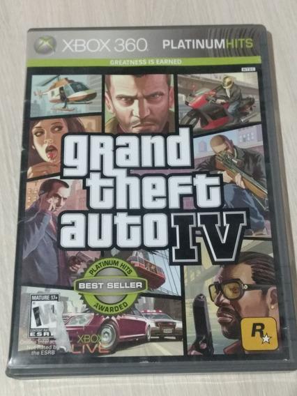 Gta Iv Para Xbox 360 Original Edição Platinum Hits