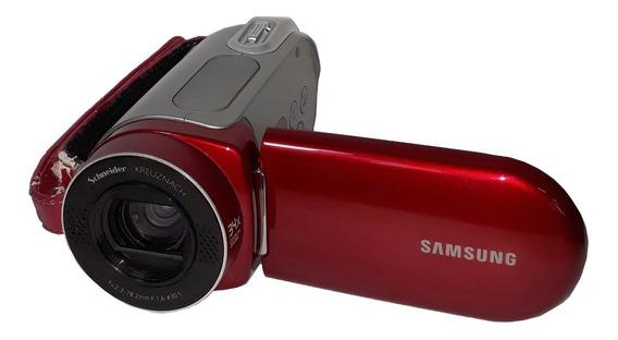 Câmera De Vídeo Digital Samsung Sc-mx20 Sd / Sdhc (vermelha)