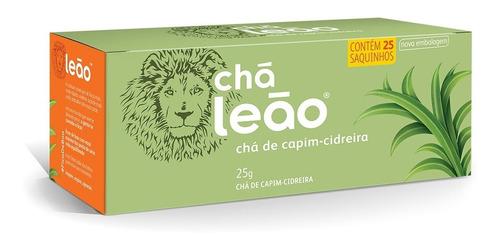Chá Leão Ervas - Capim-cidreira Em Sachês - 25ud