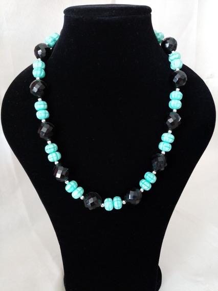 Collar De Auténtico Cristal Checo Zava Beads #3