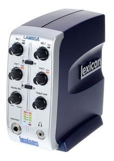 Interfaz Lexicon Lambda V De 4x2 Con Phantom / Abregoaudio