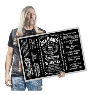 Tequila Quadro Grande 60x42cm Poster Decoração Bar A2 122