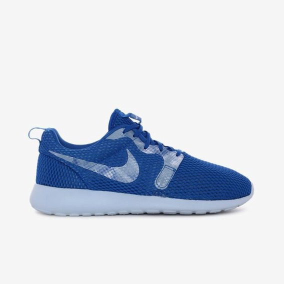 Tênis Nk Roshe One Hyperfuse Breathe Azul Casual Original