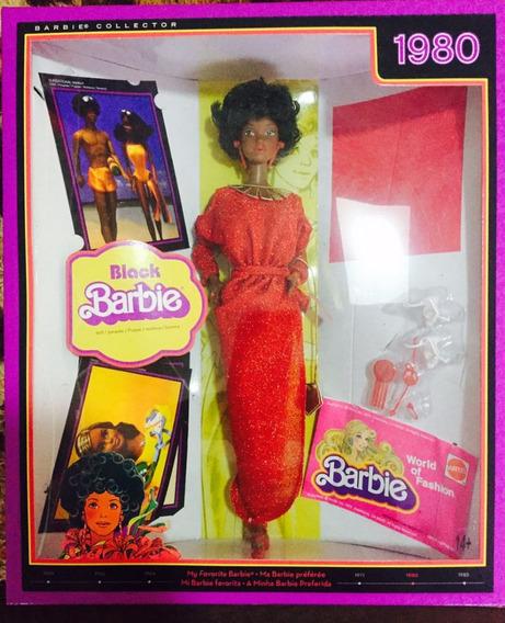 Boneca 1980 Barbie Black Capsula Do Tempo