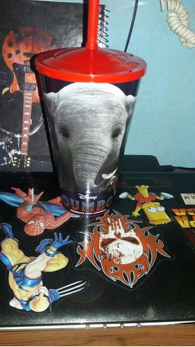 Kit Dumbo 2019 Copo Pvc Cinemark 1l (frete Grátis) Com Brind