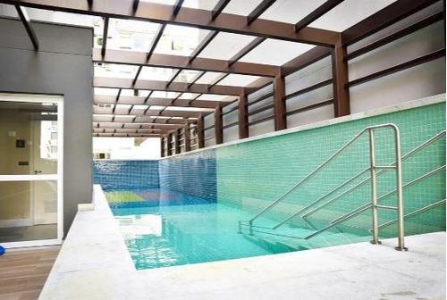 Studio Para Alugar, 47 M² Por R$ 3.300,00/mês - Consolação - São Paulo/sp - St0145