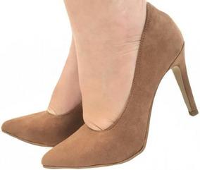db6a77cab1 Scarpin Caramelo Vazado Salto Alto Scarpins - Sapatos no Mercado ...