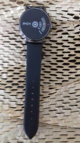 Relógio Unissex - Jingyi, Preto Cod. 00364