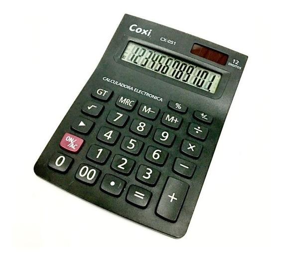 Calculadora Coxi Cx-051 Ideal Para Mostrador O Escritorio