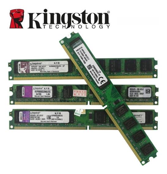 Kingston Memória Ram 2gb Ddr 2 800 Mhz