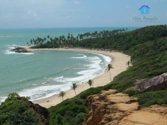 Terreno Em Carapibus, Parte Alta,linda Vista Mar! - Te0615
