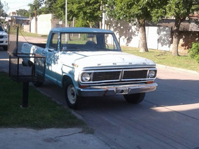 Vendo Ford F100 Punta De Diamante 100x100 Original Año 1972