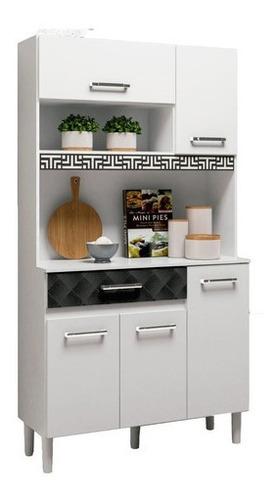 Mueble Cocina Bajo Mesada Aereos Kit Completo Bl Magazin 90