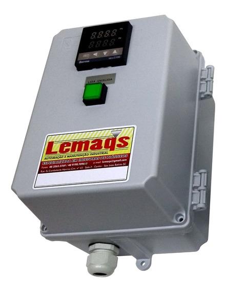 Controlador Temperatura + Sensor Relé Est. 25a Caixa Montada