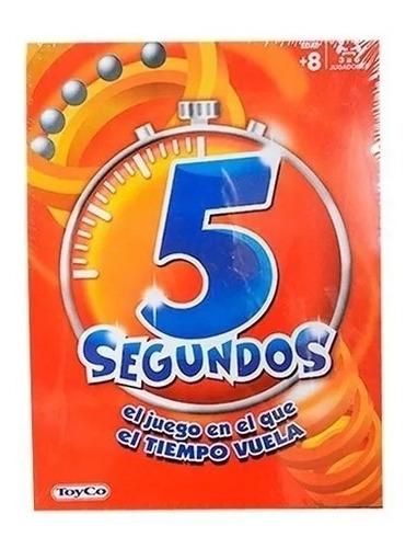 5 Segundos Clasico Juego De Mesa Toyco - Sharif Express