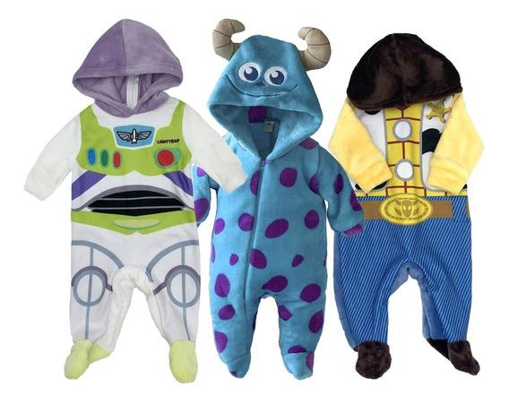Kit 3 Mamelucos Disney Buzz, Sulley, Woody A Precio De 2