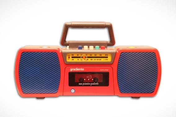 Rádio Gravador Meu Primeiro / Segundo Gradiente