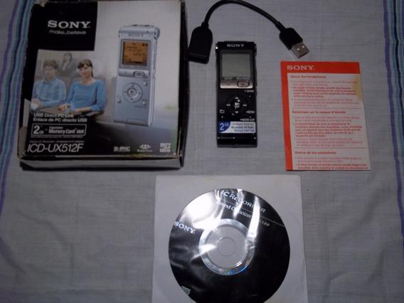 Grabadora De Voz Sony Icd-ux512f
