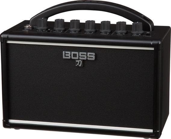 Cubo Mini Amplificador Boss Katana Mini Compacto + Fonte Hay