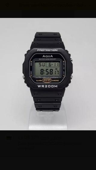 Relógio Bolsonaro Presidente Digital Aqua 2018 Prova D Agua