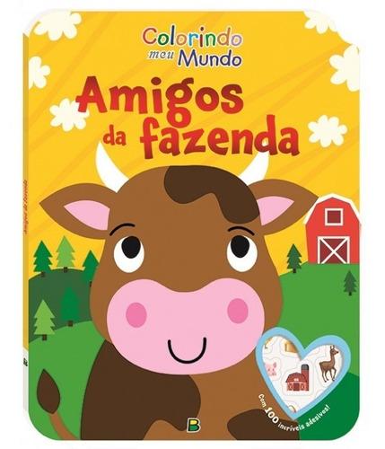 Livro Colorindo Meu Mundo Amigos Da Fazenda Todolivro
