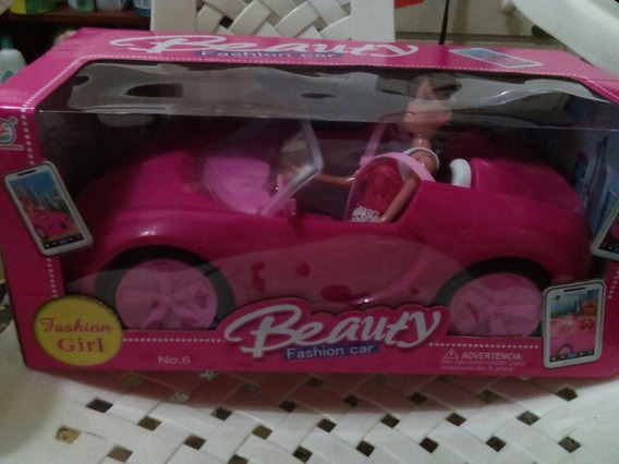 Carro De La Barbie Incluye Muñeca